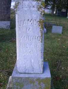 YOUNG, JAMES M - Madison County, Nebraska | JAMES M YOUNG - Nebraska Gravestone Photos