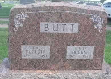 BUTT, AUGUSTA - Merrick County, Nebraska | AUGUSTA BUTT - Nebraska Gravestone Photos