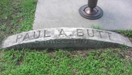 BUTT, PAUL A. - Merrick County, Nebraska | PAUL A. BUTT - Nebraska Gravestone Photos
