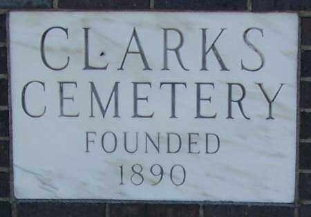 *CLARKS CEMETERY, SIGN AT ENTRANCE - Merrick County, Nebraska | SIGN AT ENTRANCE *CLARKS CEMETERY - Nebraska Gravestone Photos