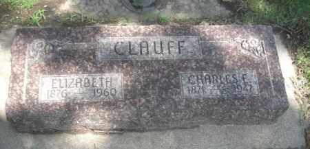 CLAUFF, CHARLES E. - Merrick County, Nebraska | CHARLES E. CLAUFF - Nebraska Gravestone Photos
