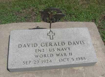 DAVIS, DAVID GERALD - Merrick County, Nebraska | DAVID GERALD DAVIS - Nebraska Gravestone Photos
