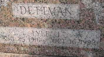 DETTMAN, MARGARET ANN - Merrick County, Nebraska | MARGARET ANN DETTMAN - Nebraska Gravestone Photos