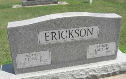 ERICKSON, ELNA E. - Merrick County, Nebraska | ELNA E. ERICKSON - Nebraska Gravestone Photos