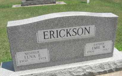 ERICKSON, EMIL W. - Merrick County, Nebraska | EMIL W. ERICKSON - Nebraska Gravestone Photos