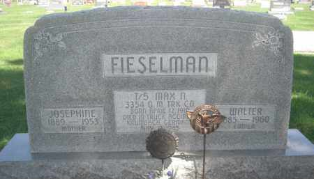 FIESELMAN, JOSEPHINE - Merrick County, Nebraska | JOSEPHINE FIESELMAN - Nebraska Gravestone Photos