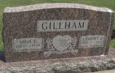 GILLHAM, NINE E. - Merrick County, Nebraska | NINE E. GILLHAM - Nebraska Gravestone Photos
