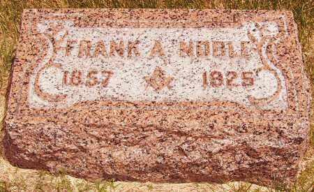 NOBLE, FRANK - Merrick County, Nebraska | FRANK NOBLE - Nebraska Gravestone Photos