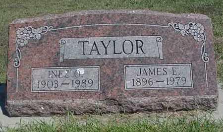 TAYLOR, INEZ O. - Merrick County, Nebraska | INEZ O. TAYLOR - Nebraska Gravestone Photos