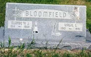 BLOOMFIELD, ELIZABETH J. - Morrill County, Nebraska   ELIZABETH J. BLOOMFIELD - Nebraska Gravestone Photos