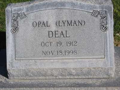 DEAL, OPAL - Morrill County, Nebraska   OPAL DEAL - Nebraska Gravestone Photos