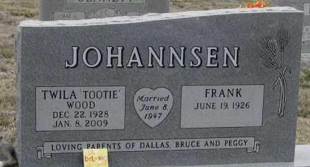 "JOHANNSEN, TWILA  ""TOOTIE"" - Morrill County, Nebraska   TWILA  ""TOOTIE"" JOHANNSEN - Nebraska Gravestone Photos"