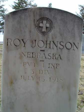 JOHNSON, ROY - Morrill County, Nebraska | ROY JOHNSON - Nebraska Gravestone Photos