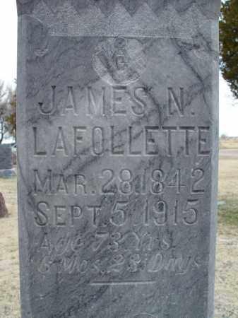 LAFOLLETTE, JAMES N. - Morrill County, Nebraska | JAMES N. LAFOLLETTE - Nebraska Gravestone Photos