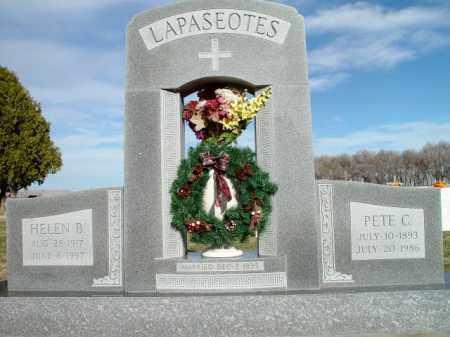 LAPASEOTES, PETE C. - Morrill County, Nebraska | PETE C. LAPASEOTES - Nebraska Gravestone Photos
