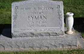 LYMAN, PEARL A. - Morrill County, Nebraska | PEARL A. LYMAN - Nebraska Gravestone Photos