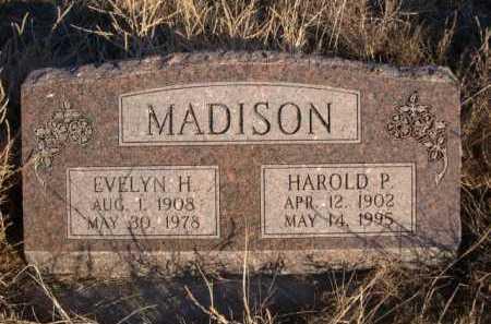 MADISON, HAROLD P. - Morrill County, Nebraska | HAROLD P. MADISON - Nebraska Gravestone Photos