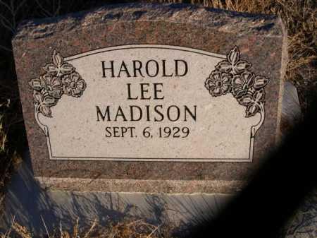 MADISON, HAROLD LEE - Morrill County, Nebraska | HAROLD LEE MADISON - Nebraska Gravestone Photos