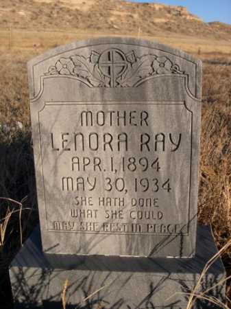 RAY, LENORA - Morrill County, Nebraska | LENORA RAY - Nebraska Gravestone Photos