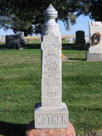 SPILLER, LYDIA - Morrill County, Nebraska | LYDIA SPILLER - Nebraska Gravestone Photos