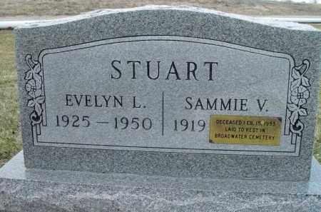 STUART, EVELYN L. - Morrill County, Nebraska   EVELYN L. STUART - Nebraska Gravestone Photos