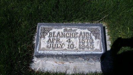 VIVIAN, BLANCHE ANN - Morrill County, Nebraska | BLANCHE ANN VIVIAN - Nebraska Gravestone Photos