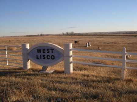 WEST LISCO CEMETERY, ENTRANCE TO - Morrill County, Nebraska | ENTRANCE TO WEST LISCO CEMETERY - Nebraska Gravestone Photos