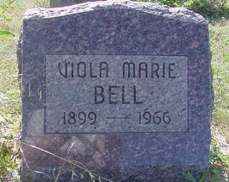 BELL, VIOLA MARIE - Nance County, Nebraska   VIOLA MARIE BELL - Nebraska Gravestone Photos