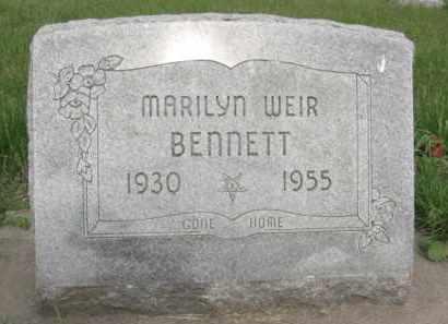 BENNETT, MARILYN - Nance County, Nebraska | MARILYN BENNETT - Nebraska Gravestone Photos