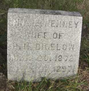 PENNEY BIGELOW, NINA E. - Nance County, Nebraska | NINA E. PENNEY BIGELOW - Nebraska Gravestone Photos