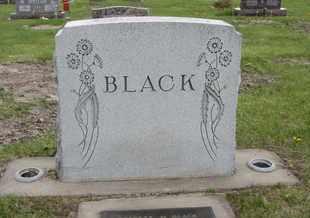 BLACK, PLOT - Nance County, Nebraska | PLOT BLACK - Nebraska Gravestone Photos
