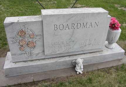 BOARDMAN, OPAL K. - Nance County, Nebraska | OPAL K. BOARDMAN - Nebraska Gravestone Photos