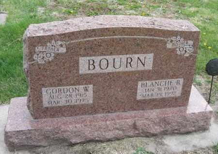 BOURN, BLANCHE R. - Nance County, Nebraska | BLANCHE R. BOURN - Nebraska Gravestone Photos
