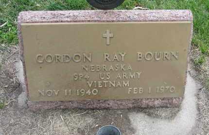 BOURN, GORDON RAY - Nance County, Nebraska | GORDON RAY BOURN - Nebraska Gravestone Photos