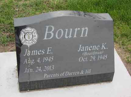 BOURN, JAMES E. - Nance County, Nebraska   JAMES E. BOURN - Nebraska Gravestone Photos