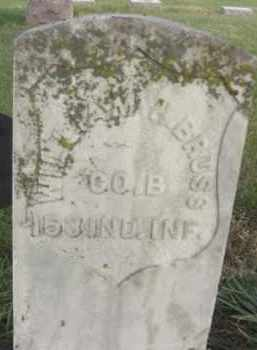 BRUSS, WILLIAM HENRY - Nance County, Nebraska | WILLIAM HENRY BRUSS - Nebraska Gravestone Photos