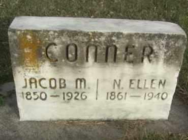 CONNER, JACOB M. - Nance County, Nebraska   JACOB M. CONNER - Nebraska Gravestone Photos
