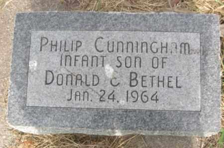 CUNNINGHAM, PHILIP - Nance County, Nebraska   PHILIP CUNNINGHAM - Nebraska Gravestone Photos