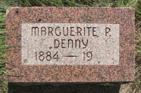 DENNY, MARGUERITE P. - Nance County, Nebraska | MARGUERITE P. DENNY - Nebraska Gravestone Photos