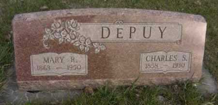 DEPUY, MARY R. - Nance County, Nebraska | MARY R. DEPUY - Nebraska Gravestone Photos