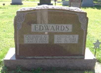 EDWARDS, CATHERINE G. - Nance County, Nebraska | CATHERINE G. EDWARDS - Nebraska Gravestone Photos