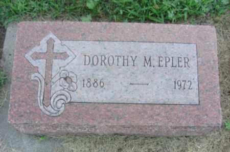 EPLER, DOROTHY M. - Nance County, Nebraska | DOROTHY M. EPLER - Nebraska Gravestone Photos