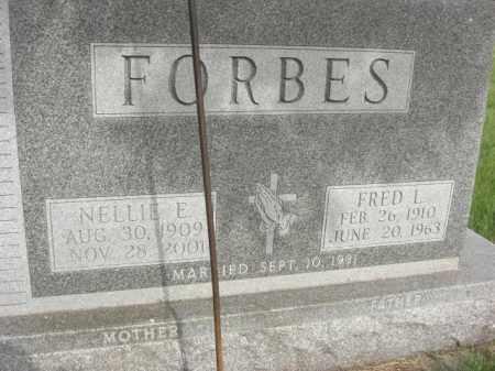 FORBES, FRED LYNN - Nance County, Nebraska | FRED LYNN FORBES - Nebraska Gravestone Photos