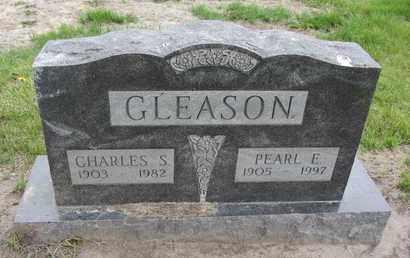 GLEASON, CHARLES S. - Nance County, Nebraska | CHARLES S. GLEASON - Nebraska Gravestone Photos