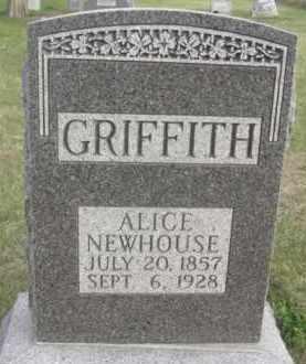 GRIFFITH, ALICE - Nance County, Nebraska | ALICE GRIFFITH - Nebraska Gravestone Photos