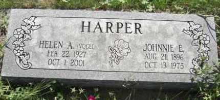 VOGEL HARPER, HELEN A. - Nance County, Nebraska | HELEN A. VOGEL HARPER - Nebraska Gravestone Photos