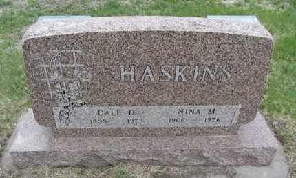 SIMMONS HASKINS, NINA M. - Nance County, Nebraska | NINA M. SIMMONS HASKINS - Nebraska Gravestone Photos