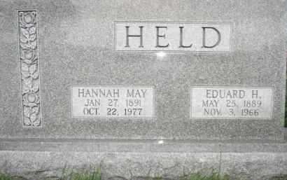HELD, EDUARD HENRY - Nance County, Nebraska | EDUARD HENRY HELD - Nebraska Gravestone Photos
