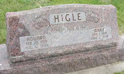 HIGLE, HOWARD HENRY - Nance County, Nebraska   HOWARD HENRY HIGLE - Nebraska Gravestone Photos