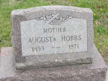 HENZ HOBBS, AUGUSTA - Nance County, Nebraska | AUGUSTA HENZ HOBBS - Nebraska Gravestone Photos